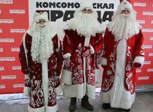 Новороссийский дед Мороз получил награду, став лучшим в Краснодарском крае