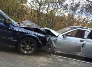 Лобовое ДТП произошло в утренний «час пик» в Новороссийске.