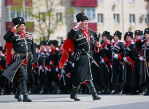 Казаки Новороссийска отмечают профессиональный праздник