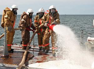 На учениях по борьбе за живучесть кораблей Черноморского флота военнослужащие получили оценку «хорошо»