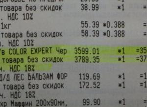 Краску для волос за 3600 рублей ошибочно продали жительнице Новороссийска