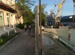 Новороссийцы возмущены строительством шоссе вблизи их окон