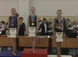 Новороссийские гимнастки из «Надежды» вновь с медалями