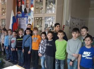 Новогодний турнир по шашкам прошёл в Новороссийске
