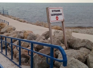 Новороссийцам на пляже в Мысхако купаться запрещено