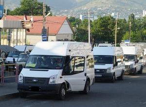 23 октября движение маршруток в городе и пригороде будет ограничено