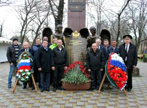 Энергетики почтили память воинов интернационалистов в Новороссийске