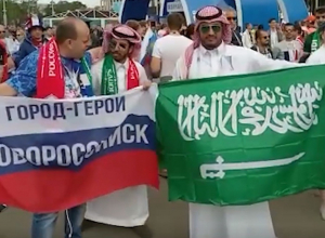 Болельщик «Черноморца» заставил весь мир кричать «Россия»