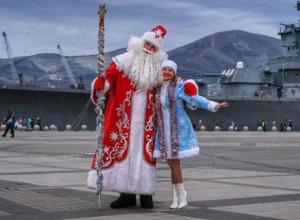 Дед Мороз из Новороссийска стал лучшим в крае