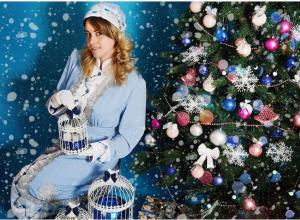 Кристина Штапова стала седьмой участницей конкурса «Снегурочка 2018»