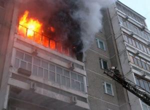Мужчина погиб при пожаре в Новороссийске