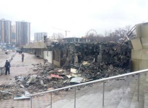 Законность сноса строений на городском пляже отказываются подтвердить в администрации Новороссийска