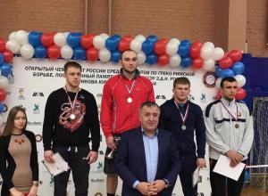 Новороссииец Александр Кузнецов занял почётное место на чемпионате России по греко-римской борьбе