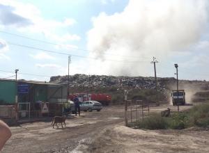 Под Новороссийском горит мусорный полигон, отравляя запахом жителей Крымска и Абинска