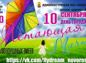 Фестиваль воздушных змеев пройдет в Новороссийске