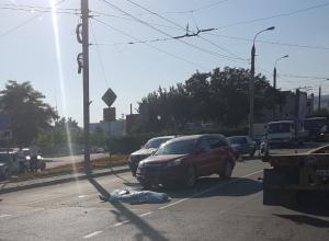 Водитель мопеда погиб под колесами автомобиля в Новороссийске