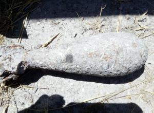 На глубине один метр найдена авиационная бомба в Новороссийске