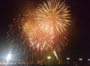 Праздничный салют отгремел в честь 179-летия Новороссийска