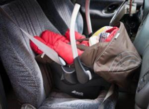 3-месячный ребенок находился в автомобиле во время ДТП под Новороссийском