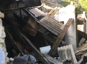В Новороссийске пожар помог найти труп