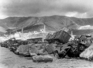 26 апреля 1943 года в Новороссийске. На 75 лет назад