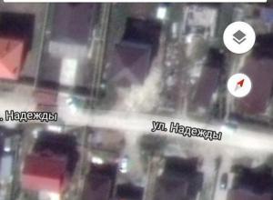 Даже спутник видит дом жительницы Новороссийска, а УФМС нет