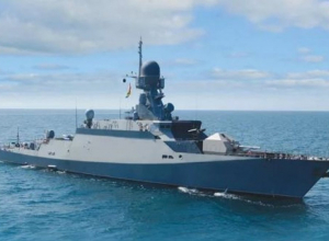 Малый ракетный корабль «Вышний Волочёк» проходит испытания в Новороссийске