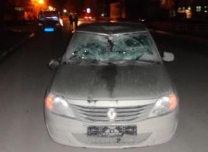 Пьяный пешеход прилетел автоледи в лобовое стекло
