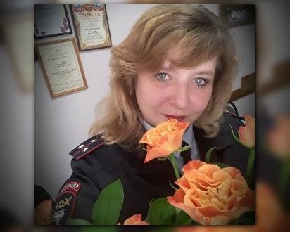 Сегодня свой день рождения отмечает старший инспектор Наталья Мельникова