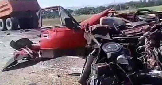 В ДТП погибла женщина на трассе «Юровка-Новороссийск»