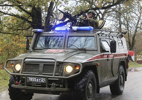 На парад 9 мая в Новороссийске впервые приедет военная полиция
