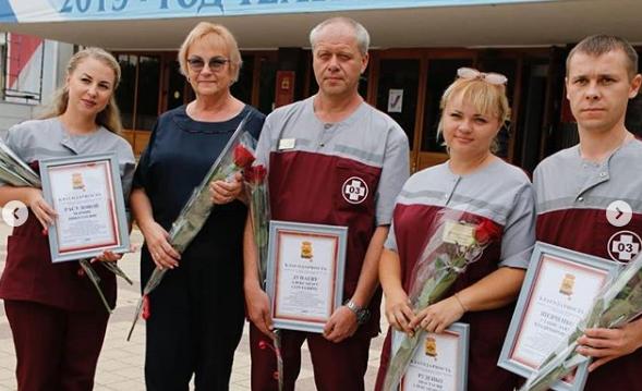 Благодарность за спасенные жизни выразил глава Новороссийска сотрудникам экстренных служб