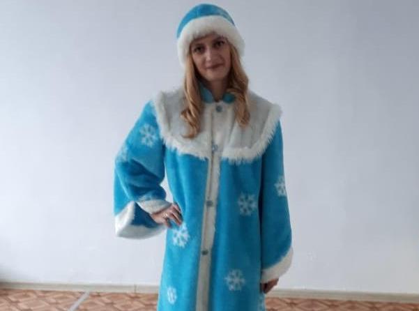Анна - новая участница конкурса «Мисс Снегурочка-2019»