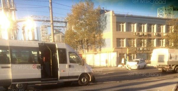 Кто-то из пассажиров маршрутки в Новороссийске не доехал до работы