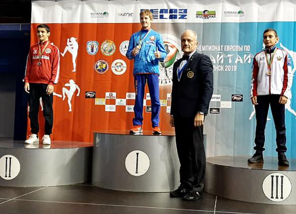Новороссийцы привезли серебро с Чемпионата Европы по тайскому боксу