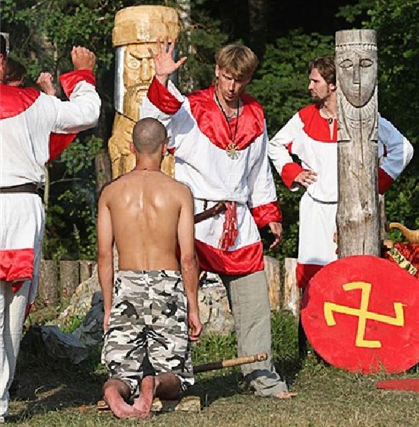 Странная мода на славянское язычество докатилась до Черного моря