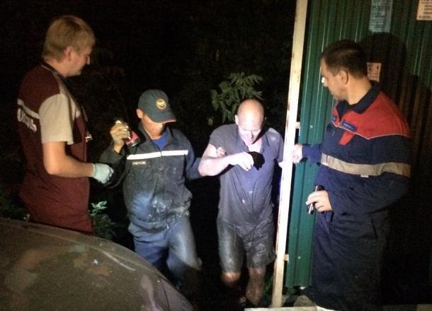 Новороссиец едва не утонул в болоте в Цемесской роще