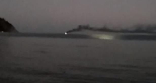 Всех рыбаков спасли с горящего в Черном море траулера