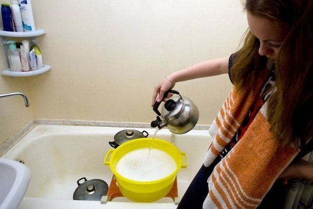 Август некоторые новороссийцы проведут без горячей воды