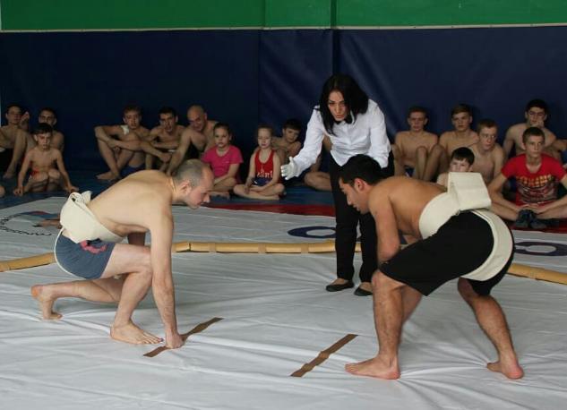 Частичка Японии в Новороссийске- Федерация сумо пополняет ряды спортсменов