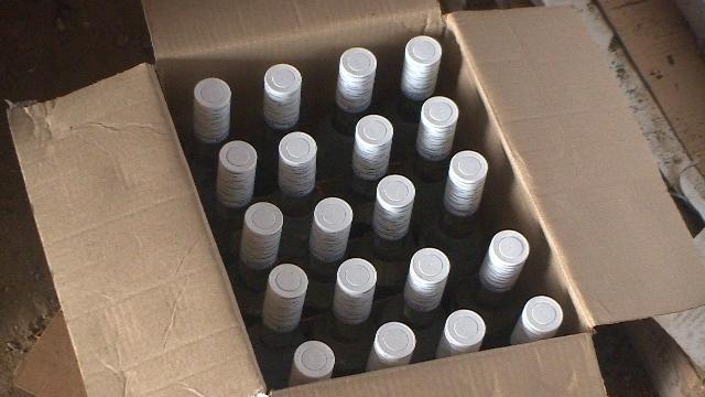 9 тысяч бутылок водки изъяли в Новороссийске