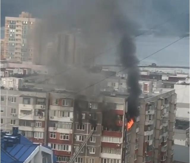 Стала известна официальная версия пожара в Южном районе Новороссийска