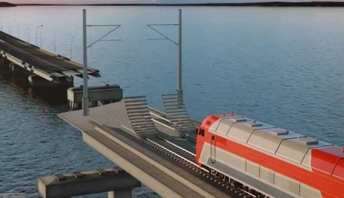 Названа дата открытия железнодорожного моста в Крым