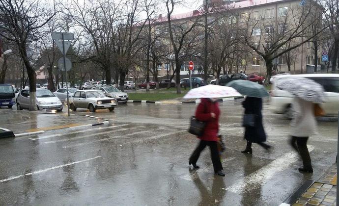Погода в Новороссийске приобретает «питерский» характер