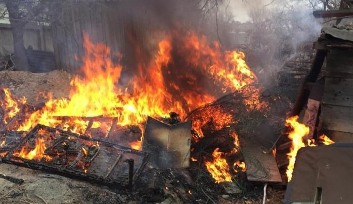 Молитвы новороссийца обернулись крупным пожаром