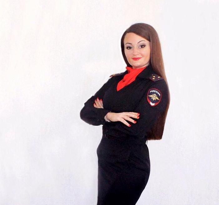 Евгения Гостева из Новороссийска претендует на звание «Красавица в погонах»