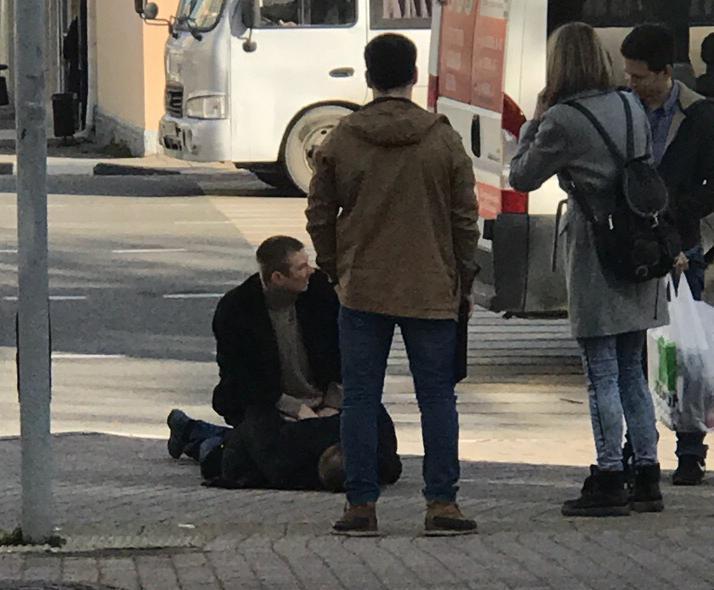 Новороссийцы переживают из-за странного задержания на улице средь бела дня
