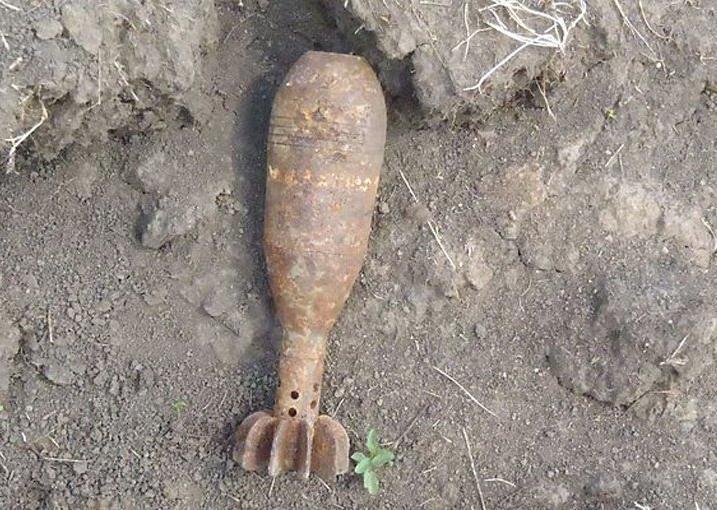 Снаряд времён Второй мировой обнаружили в центре Новороссийска