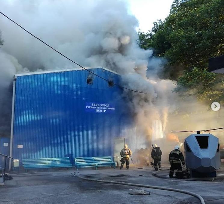 Пожар нанес многомиллионный ущерб государственному университету Новороссийска