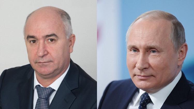 Новороссийском управляет вылитый Путин